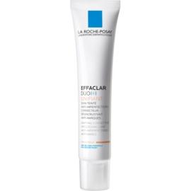 La Roche-Posay Effaclar tónusegyesítő korrekciós ápolás a bőr tökéletlenségei és a pattanások utáni hegek ellen árnyalat Medium Duo [+] 40 ml