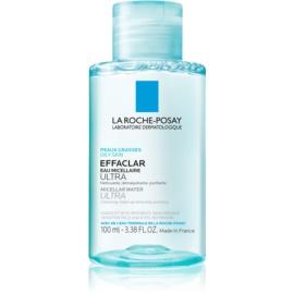 La Roche-Posay Effaclar tisztító micelláris víz problémás és pattanásos bőrre  100 ml