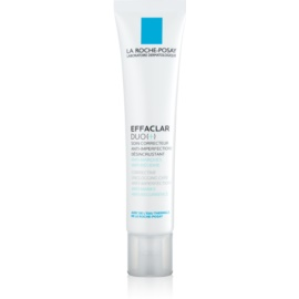 La Roche-Posay Effaclar DUO (+) Corrective Renewal Anti-Recurrence Treatment for Skin Imperfections and Acne Scarring  40 ml