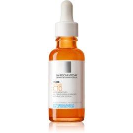 La Roche-Posay Pure Vitamin C10 posvetlitveni serum proti gubam z vitaminom C  30 ml