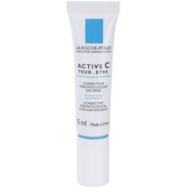 La Roche-Posay Active C očný protivráskový krém pre všetky typy pleti vrátane citlivej  15 ml