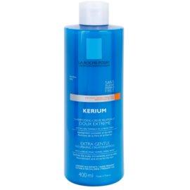 La Roche-Posay Kerium extra jemný vyživující krémový šampon pro citlivou pokožku hlavy  400 ml