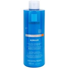 La Roche-Posay Kerium champô cremoso extra suave nutritivo para o couro cabeludo sensível  400 ml