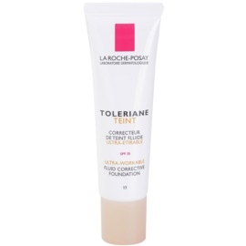 La Roche-Posay Toleriane Teint Fluide podkład we fluidzie do skóry wrażliwej SPF 25 odcień 17  30 ml