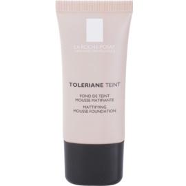La Roche-Posay Toleriane Teint mattierendes Schaum-Make-up für fettige und Mischhaut Farbton 04 Golden Beige SPF 20  30 ml