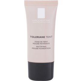 La Roche-Posay Toleriane Teint mattierendes Schaum-Make-up für fettige und Mischhaut Farbton 05 Dark Beige SPF 20  30 ml