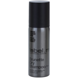 label.m Cleanse Trockenshampoo für braune Farbnuancen des Haares  50 ml