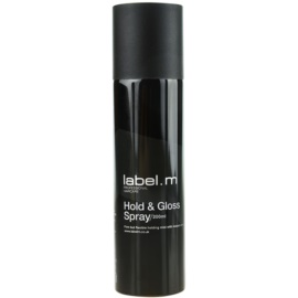 label.m Complete lak na vlasy pro zpevnění a lesk  200 ml