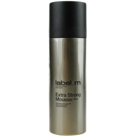 label.m Create пінка для волосся екстра сильної фіксації  200 мл