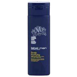 label.m Men čisticí šampon na vlasy a vlasovou pokožku  250 ml