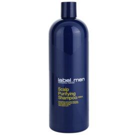 label.m Men čisticí šampon na vlasy a vlasovou pokožku  1000 ml