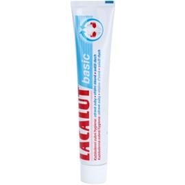Lacalut Basic pasta para dentes e gengivas saudáveis  75 ml