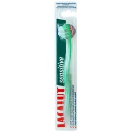 Lacalut Sensitive escova de dentes soft  Green