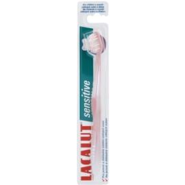 Lacalut Sensitive zubní kartáček soft Light Pink
