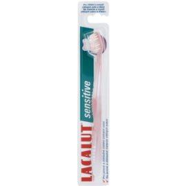 Lacalut Sensitive escova de dentes soft  Light Pink