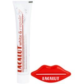 Lacalut White & Repair zubní pasta pro obnovení zubní skloviny + lis na tubu  75 ml