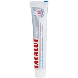 Lacalut White fogkrém fehérítő hatással  75 ml