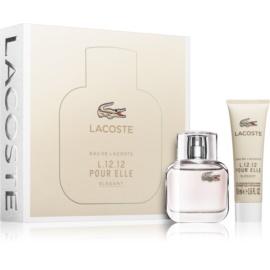 Lacoste Eau de Lacoste L.12.12 Pour Elle Elegant ajándékszett I. Eau de Toilette 30 ml + tusfürdő gél 50 ml