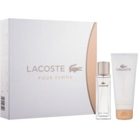 Lacoste Pour Femme coffret cadeau IX.  eau de parfum 50 ml + lait corporel 100 ml