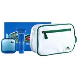 Lacoste Eau de Lacoste L.12.12 Bleu подаръчен комплект III. тоалетна вода 100 ml + душ гел 50 ml + козметична чанта