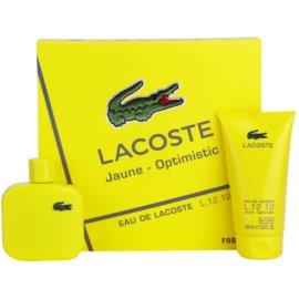 Lacoste Eau de Lacoste L.12.12 Jaune dárková sada I. toaletní voda 100 ml + sprchový gel 150 ml