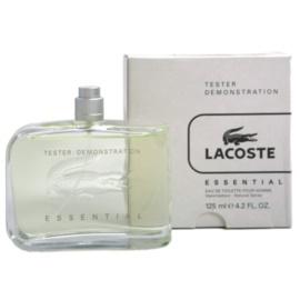 Lacoste Essential toaletní voda tester pro muže 125 ml