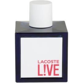 Lacoste Live toaletní voda tester pro muže 100 ml