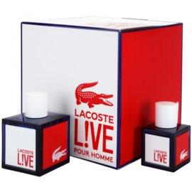 Lacoste Live darčeková sada II. toaletná voda 100 ml + toaletná voda 40 ml