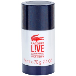 Lacoste Live Deodorant Stick for Men 75 ml