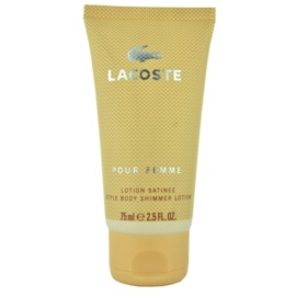 Lacoste Pour Femme telové mlieko pre ženy 75 ml