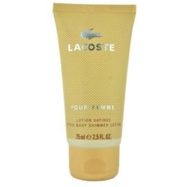 Lacoste Pour Femme tělové mléko pro ženy 75 ml