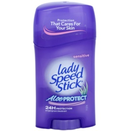 Lady Speed Stick Aloe Protect tuhý antiperspitant (24h) 45 g