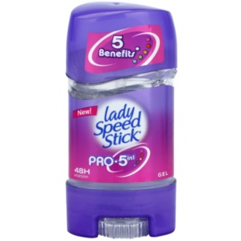 Lady Speed Stick Pro 5 in1 antitranspirante gelatinoso  (48h) 65 g