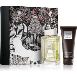 Lalique Hommage a L'Homme Gift Set II.  Eau De Toilette 100 ml + Shower Gel 100 ml
