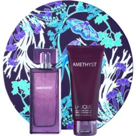 Lalique Amethyst dárková sada IV. parfémovaná voda 100 ml + sprchový gel 100 ml