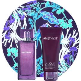 Lalique Amethyst darilni set IV. parfumska voda 100 ml + gel za prhanje 100 ml