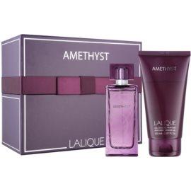 Lalique Amethyst dárková sada V. parfémovaná voda 100 ml + sprchový gel 150 ml