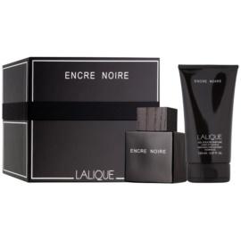 Lalique Encre Noire for Men zestaw upominkowy  woda toaletowa 100 ml + żel pod prysznic 150 ml