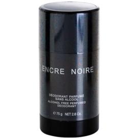 Lalique Encre Noire for Men desodorizante em stick para homens 75 g