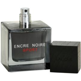 Lalique Encre Noire Sport toaletní voda tester pro muže 100 ml