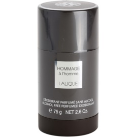 Lalique Hommage a L'Homme Deodorant Stick for Men 75 ml