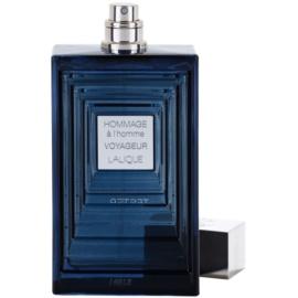 Lalique Hommage a L'Homme Voyageur toaletní voda tester pro muže 100 ml