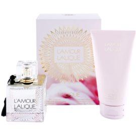 Lalique L'Amour dárková sada II. parfémovaná voda 100 ml + tělové mléko 150 ml