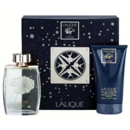 Lalique Pour Homme Lion set cadou IV. Eau de Parfum 125 ml + Gel de dus 150 ml