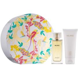 Lalique Nilang set cadou II. Eau de Parfum 100 ml + Gel de dus 100 ml