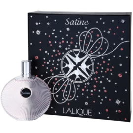 Lalique Satine Gift Set I. Eau De Parfum 100 ml + Chain With Pendant