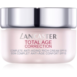 Lancaster Total Age Correction Nourishing Age Defying Cream SPF 15  50 ml