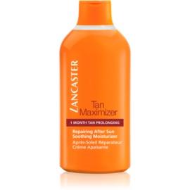 Lancaster Tan Maximizer crema lenitiva idratante per prolungare l'abbronzatura  400 ml
