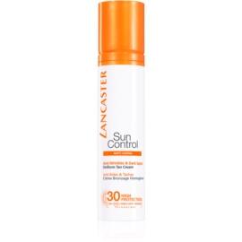 Lancaster Sun Control Bräunungscreme für das Gesicht mit Anti-Falten-Effekt SPF30  50 ml