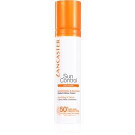 Lancaster Sun Control Bräunungscreme für das Gesicht mit Anti-Falten-Effekt SPF 50+  50 ml